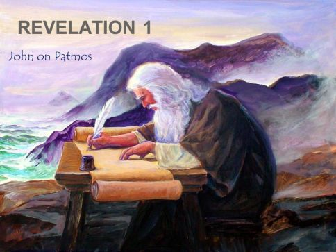REVELATION 1 John on Patmos